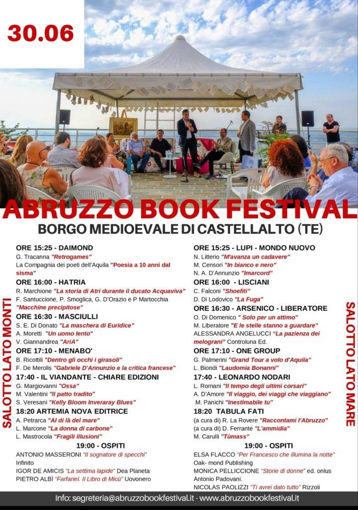 Castellalto. Tutto pronto per la 2° edizione di Abruzzo Book Festival, unica giornata il 30 giugno