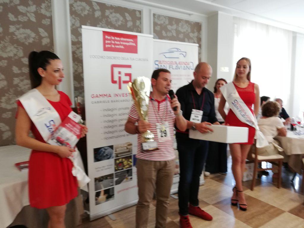 1° Gran Premio Città di Tortoreto: vince il primo premio assoluto Simone Torquati con la F355