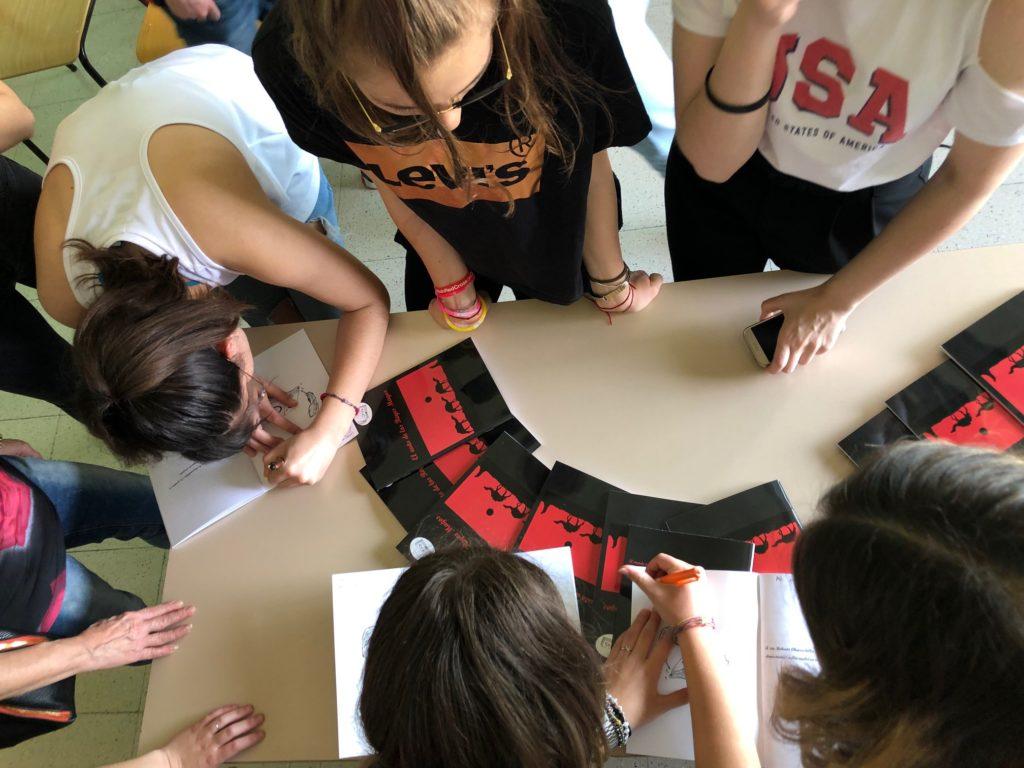 Giulianova. Alternanza Scuola Lavoro al Curie: progetto di editoria