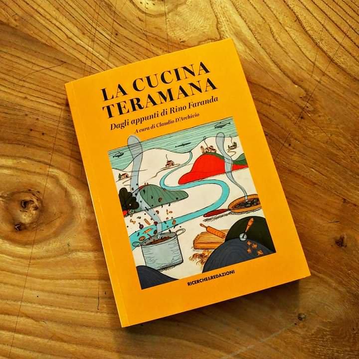 """Isola del Gran Sasso. Presentazione del libro curato daClaudio D'Archivio""""La Cucina Teramana. Dagli appunti di Rino Faranda"""" (casa editrice Ricerche&Redazioni)."""