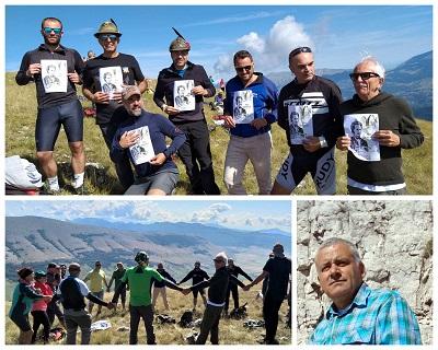 """""""Sulla vetta di Monte Rotella ricordato l'alpinista Paul Grohmann nel 150° anniversario della prima salita alla cima grande di Lavaredo dal versante sud 1869 – 2019"""""""