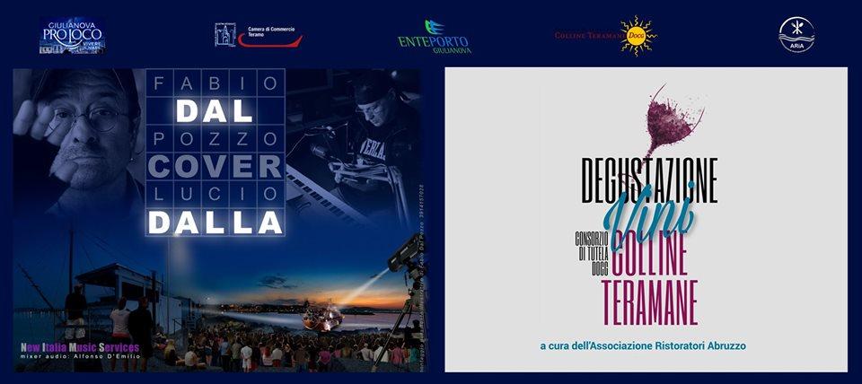 Giulianova. Avviso importante: rimandate a data da destinarsi la degustazione dei vini ed il concerto tributo a Lucio Dalla.