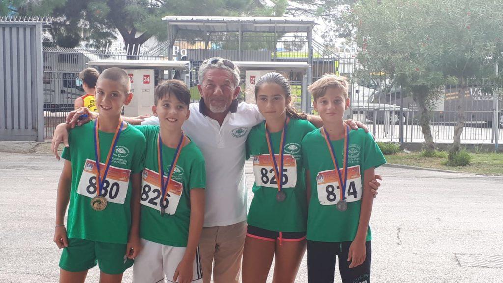 Pescara. Pioggia di Medaglie per gli atleti dell'Ecologica G