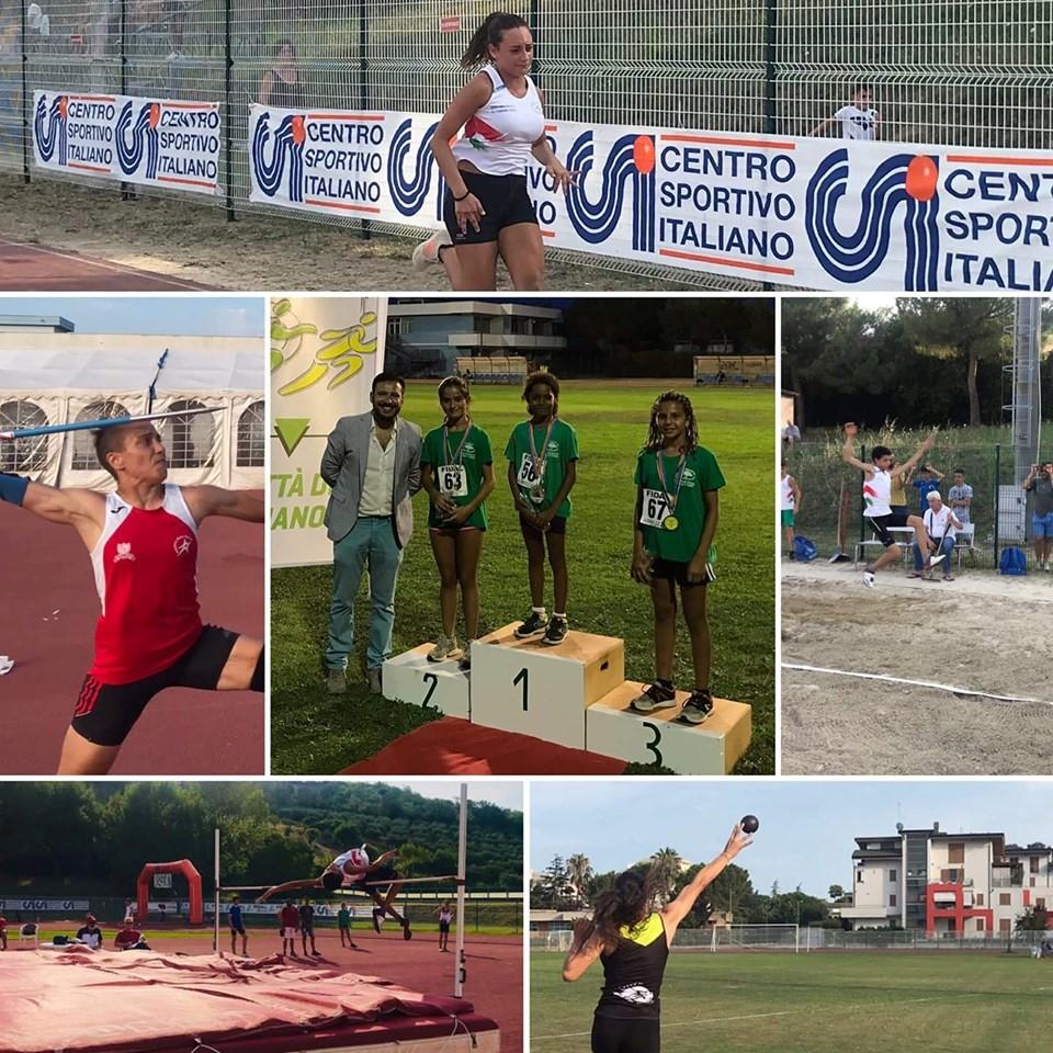"""Giulianova. 30 atleti dell'Ecologica """"G"""" ai Campionati Italiani CSI di Pescara"""