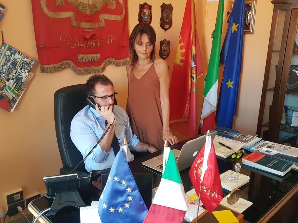 Giulianova. Il Sindaco Costantini ringrazia il primo cittadino di Teramo D'Alberto per aver accolto la richiesta di inserire Giulianova nel comitato ristretto dei sindaci della Asl