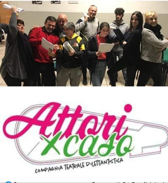 """Roseto degli Abruzzi. Il gruppo teatrale """"Attori per Caso"""" pronti per il palco. Copione scritto da Andreina Moretti"""