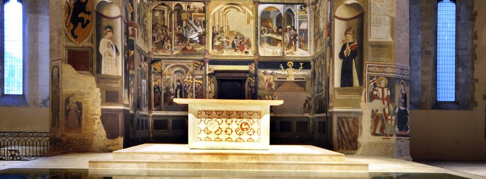 Atri. Parrocchia Santa Maria Assunta – Basilica Concattedrale: tutti i giorni la Santa Messa alla ore 19