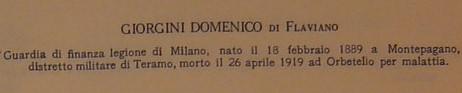 Giulianova. Domenico Giorgini, il finanziere dimenticato da tutti.