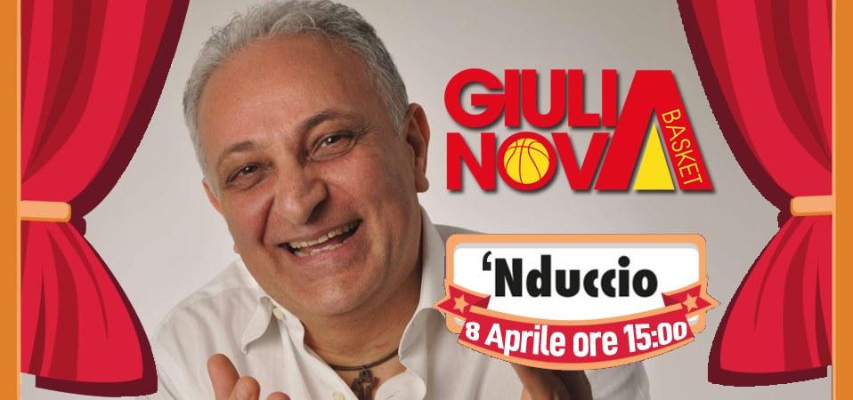 IL GIULIANOVA BASKET 85 & 'NDUCCIO PROTAGONISTI DI UNA BELLA INIZIATIVA DI SOLIDARIETA'
