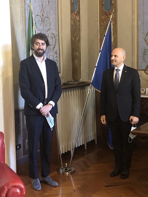 Teramo. Visita in Provincia del nuovo Prefetto, Angelo De Prisco.
