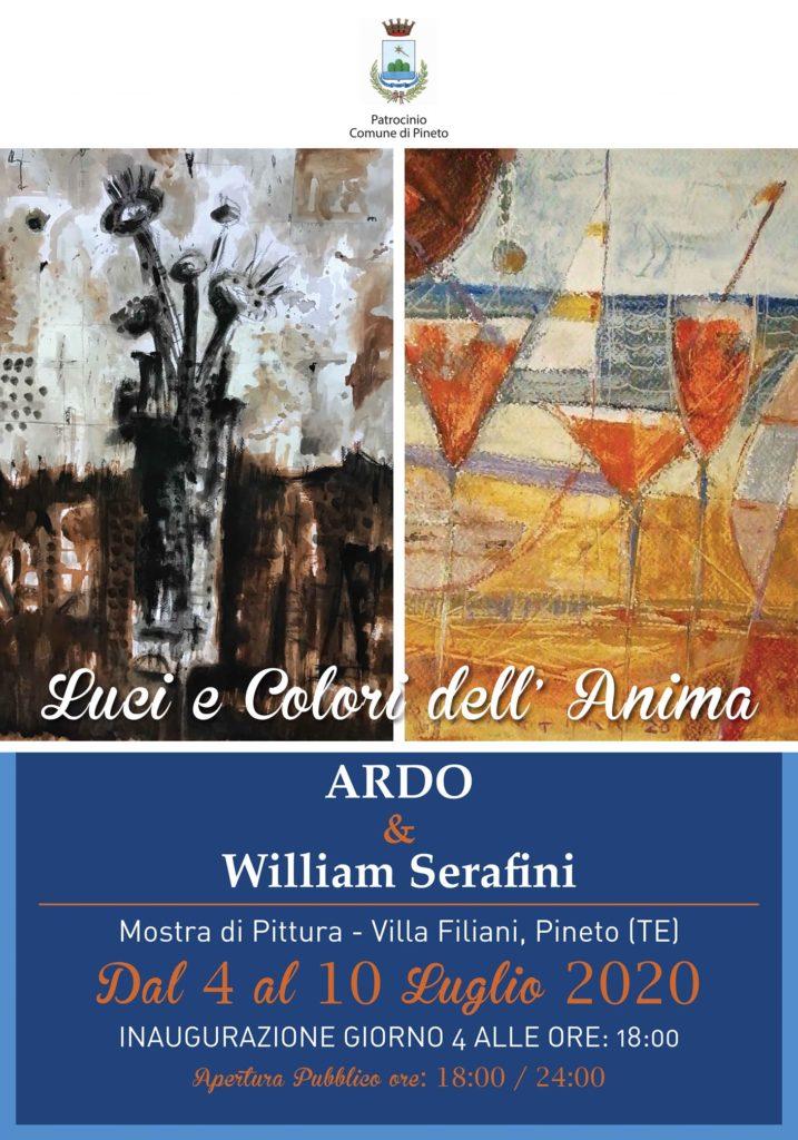 Pineto. Villa Filiani torna a ospitare mostre. Si inizia il 4 luglio con Alfonso Di Berardo, in arte Ardo