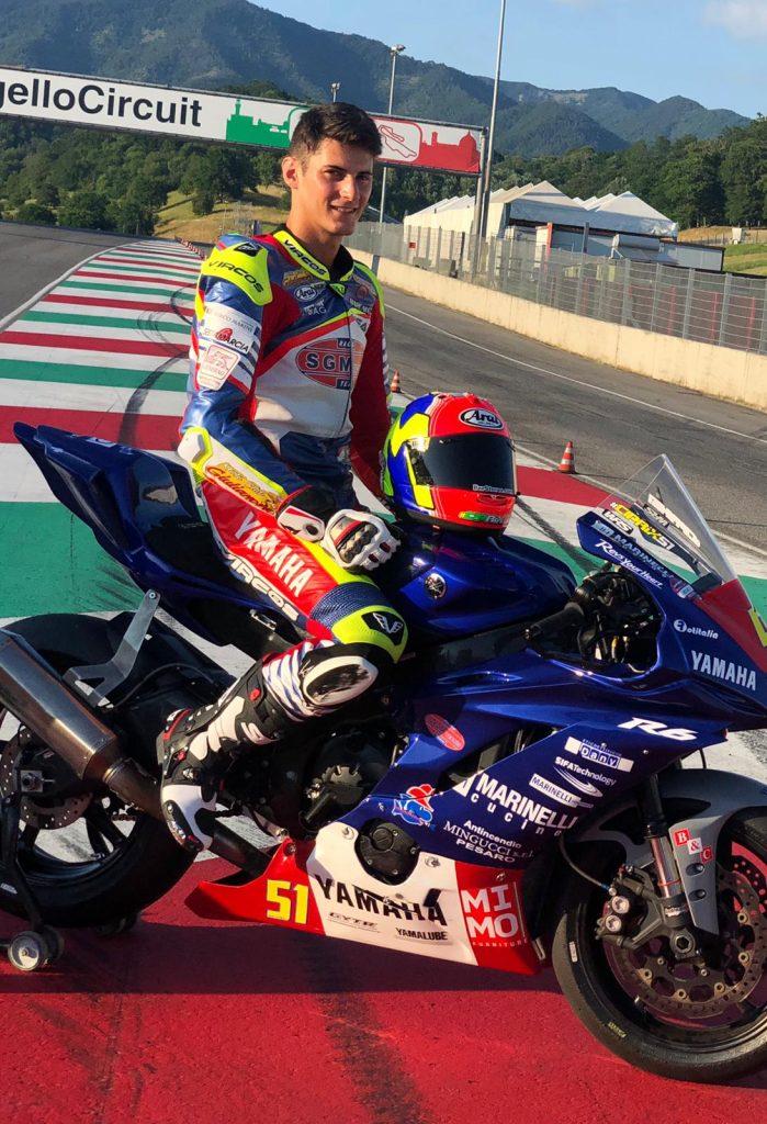 Giulianova. Il pilota Matteo Ciprietti si piazza al 7° posto sul circuito del Mugello