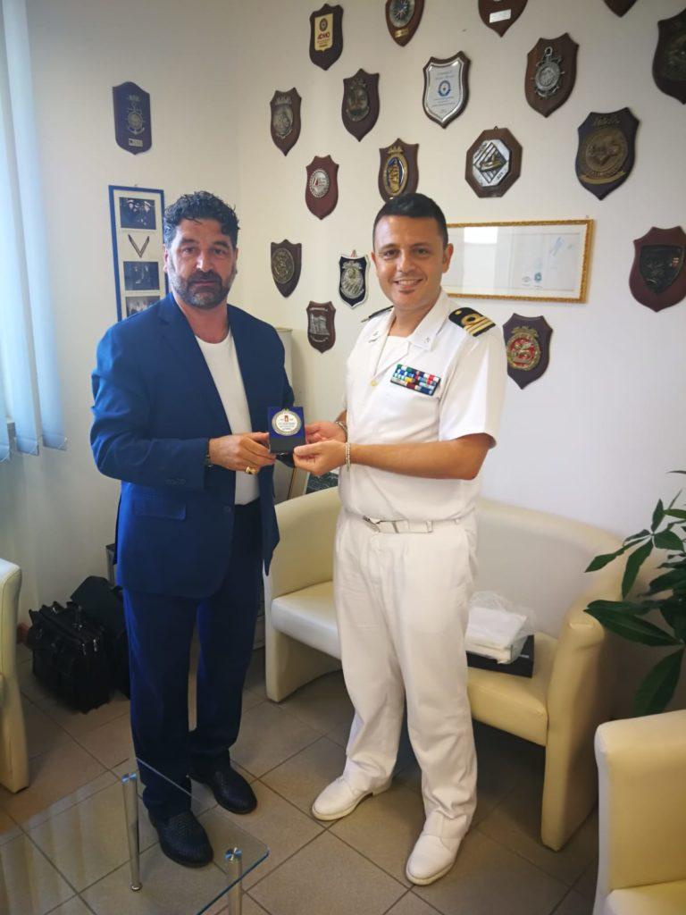Giulianova. Anche l'I.N.G.O.R.T.P. di Teramo saluta il Comandante della Guardia Costiera di Giulianova