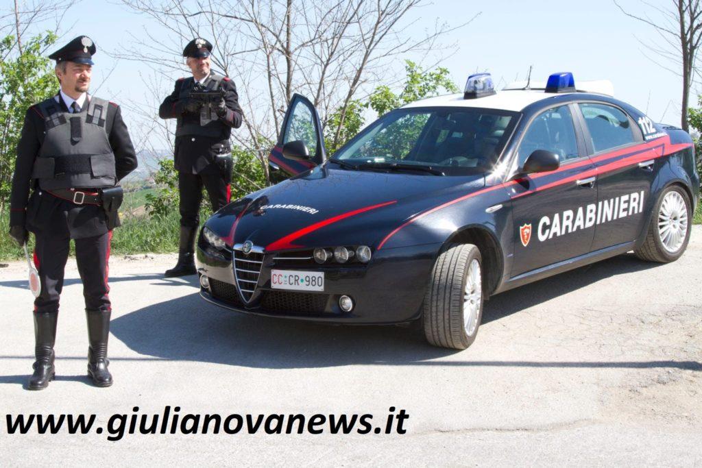 Martinsicuro. Carabinieri: giudice applica il codice rosso, arrestato un uomo
