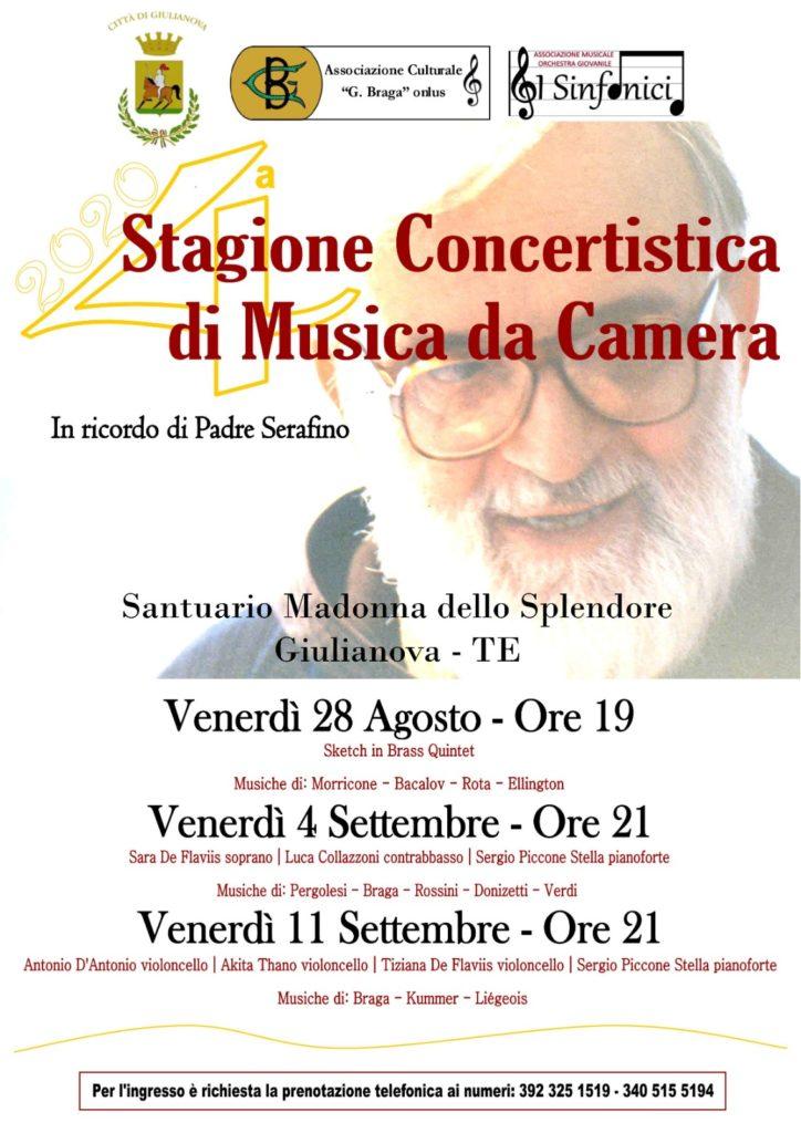 Giulianova. Stagione Concertistica di Musica da Camera, in ricordo di Padre Serafino Colangeli