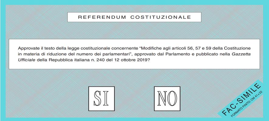 Giulianova. Comune: Referendum 20 e 21 settembre, protocollo di sicurezza anticovid-19