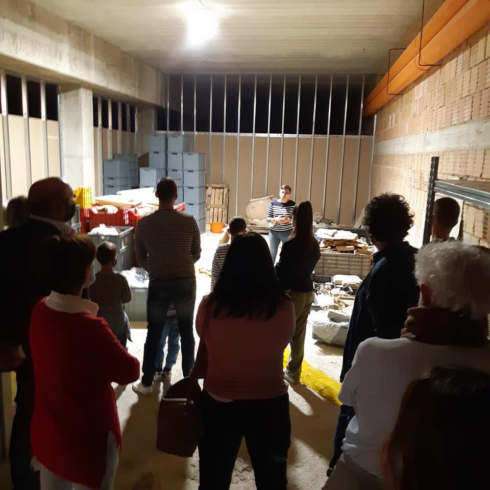 In via di ultimazione i lavori di pavimentazione e adeguamento del Deposito archeologico della Città di Giulianova, realizzato negli spazi sotto piazza Belvedere