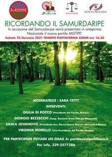 """Ricordando il """"Samudaripe """" il genocidio dei Rom e Sinti ."""