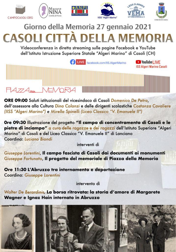 """Il """"caso"""" Margarete Wagner all'Istituto Istruzione Superiore Statale """"Algeri Marino"""" di Casoli (CH)"""