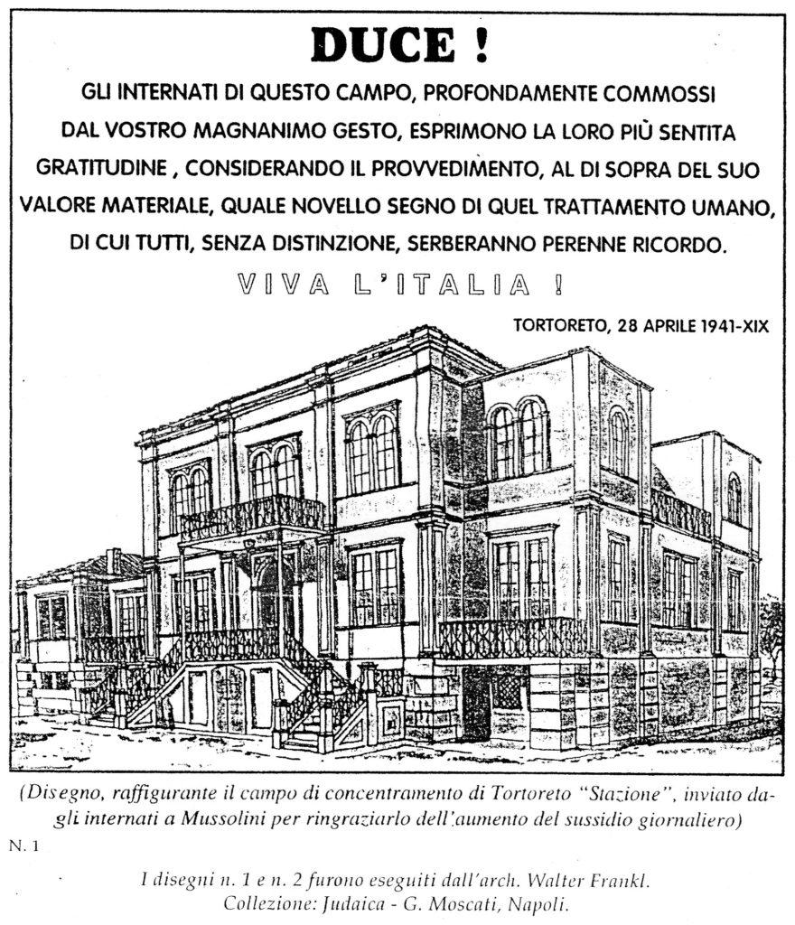 Tortoreto. 27 GENNAIO GIORNO DELLA MEMORIA:  I DUE CAMPI DI CONCENTRAMENTO DI TORTORETO ALTO E STAZIONE