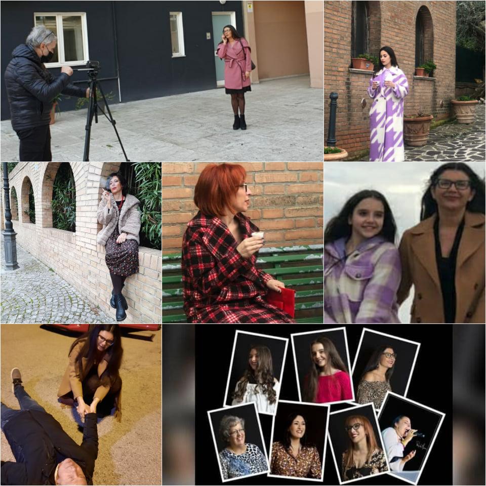 """Sono iniziate nei giorni 6 e 7 febbraio le riprese del cortometraggio """"Ri-tratti di donna"""" nei luoghi più affascinanti e suggestivi di Giulianova."""