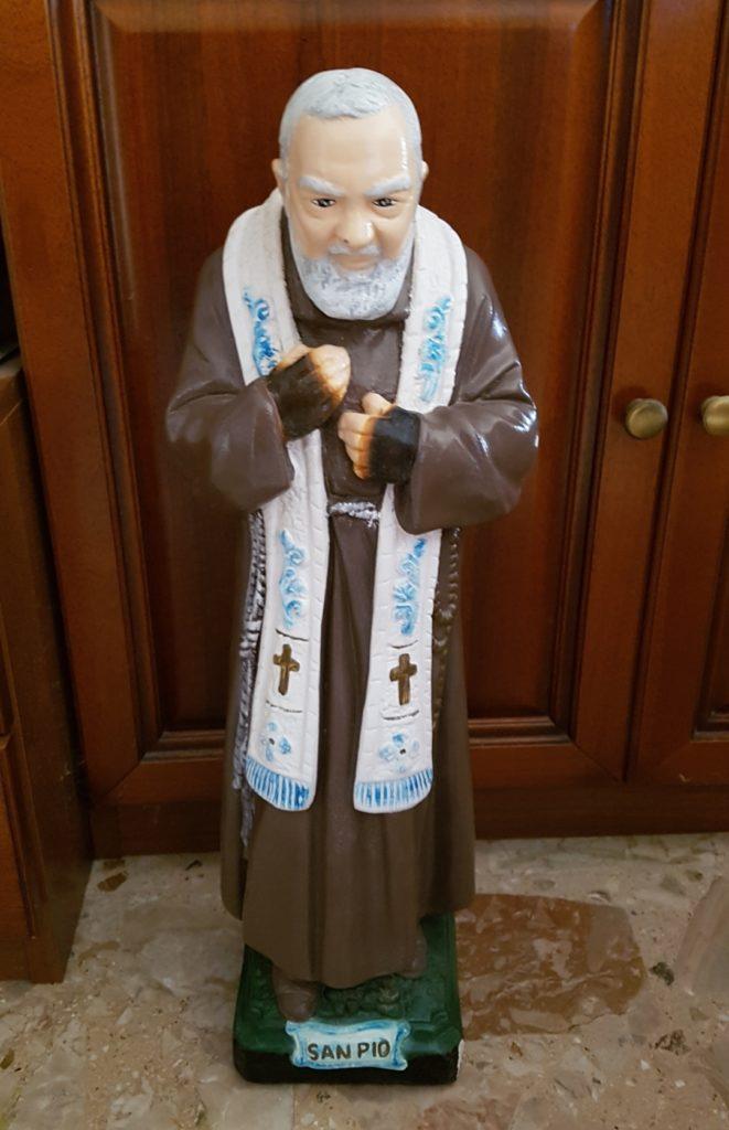 Giulianova. Lunedì primo marzo, benedizione della nuova statua di San Pio