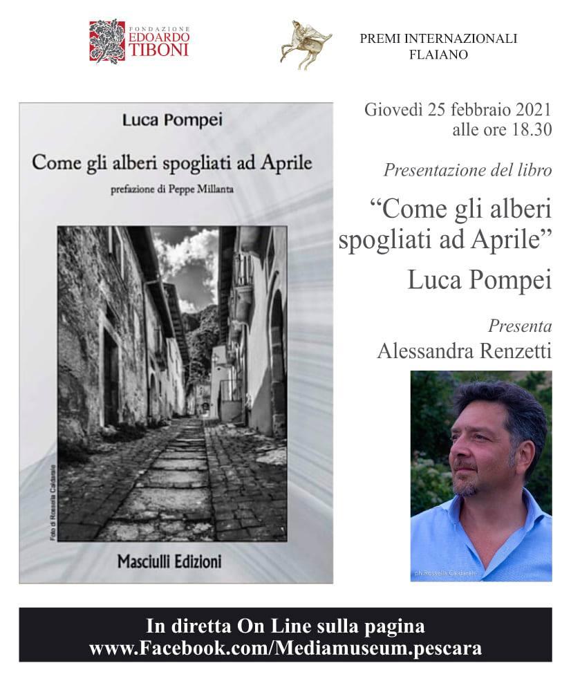 Il Mediamuseum Pescara non si ferma; prossimo appuntamento con il giornalista e autore Luca Pompei