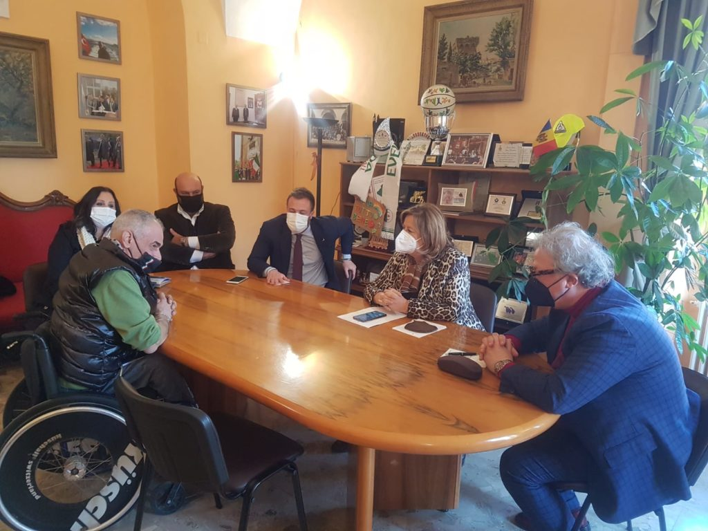 Visita istituzionale dell'assessore regionale alla Sanità Nicoletta Verì