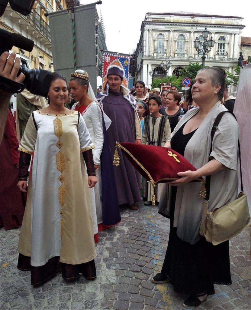 GIOVANNA DI MATTEO, CITTADINA ONORARIA DELL'AQUILA