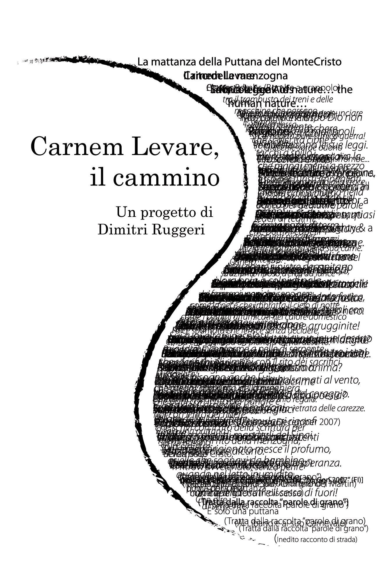 Pescara. Presentazione silloge Carnem Levare, il cammino e progetto DVD Book di Dimitri Ruggeri