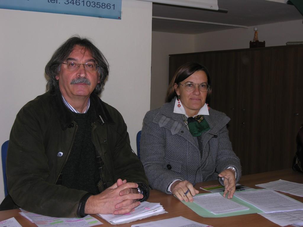 Franco Arboretti e Alberta Ortolani