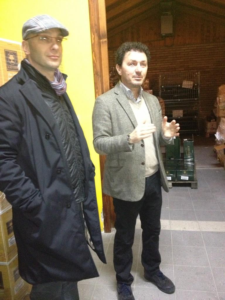 da sinistra Massimo Lanciotti e Gianni Di Carlo.