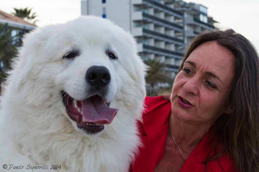 La leader di Unica Beach Giulianova, la dott.ssa Branella