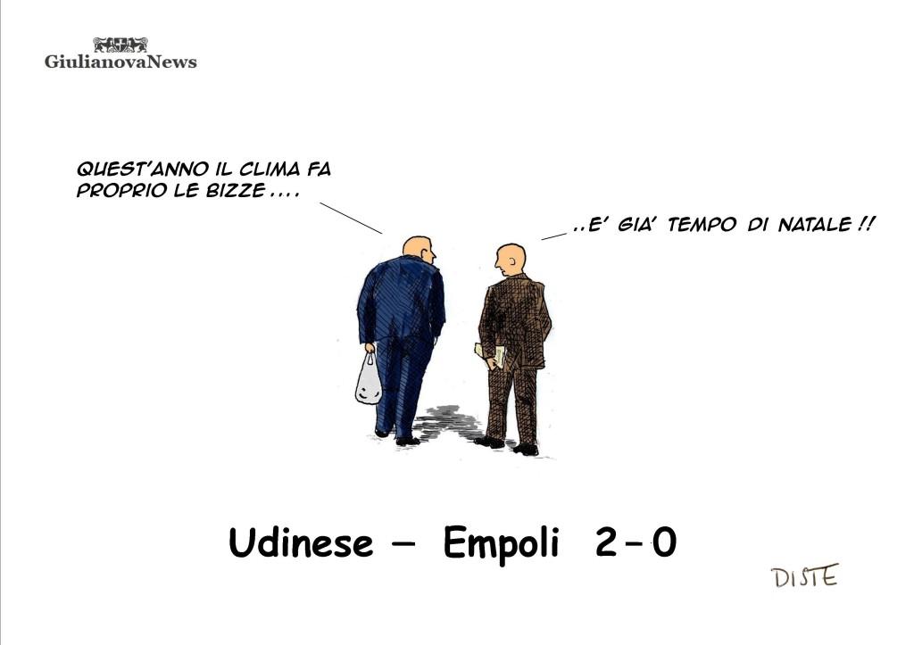 """""""alla prima di campionato una doppietta di Di Natale permette all'Udinese   di  superare l' Empoli """""""