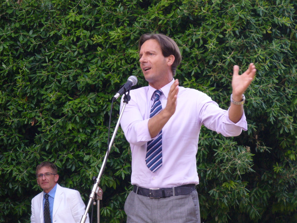 Il Sindaco di Giulianova, l'Avvocato Francesco Mastromauro