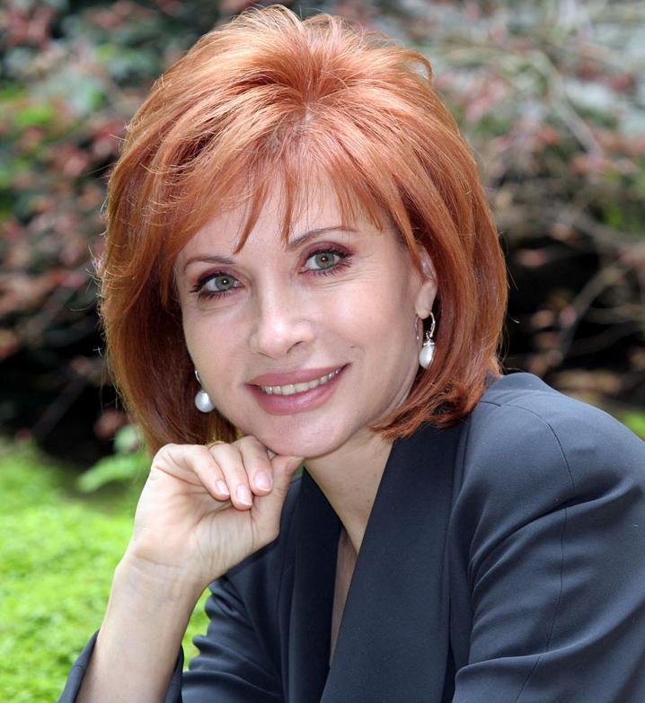 La giornalista e conduttrice televisiva, Alda D'Eusanio
