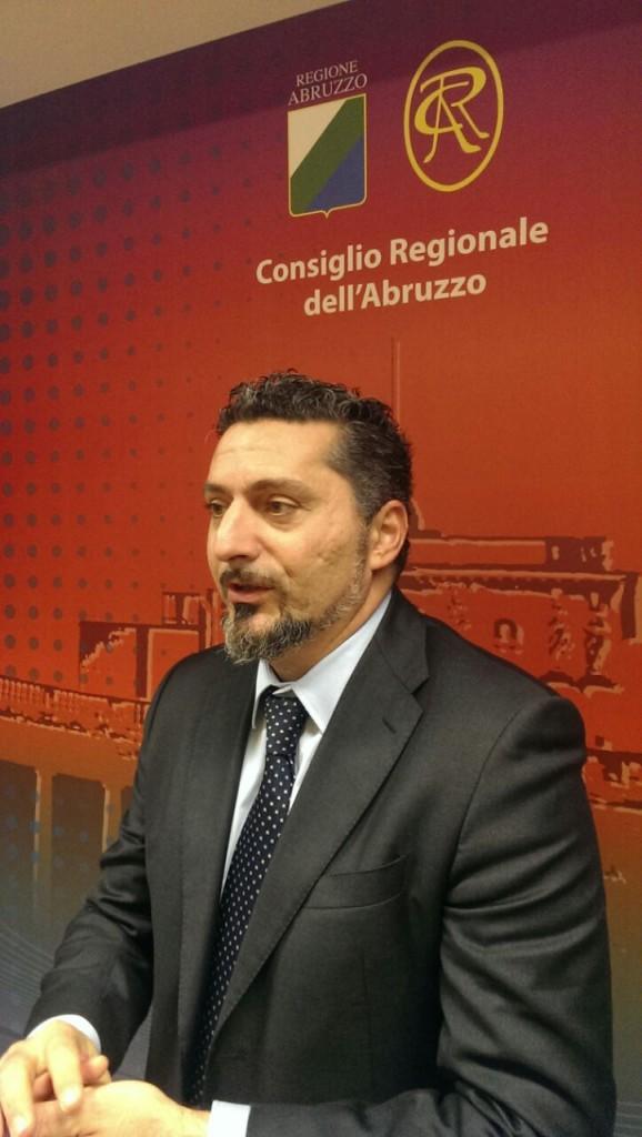 Il Consigliere regionale del M5S Riccardo Mercante