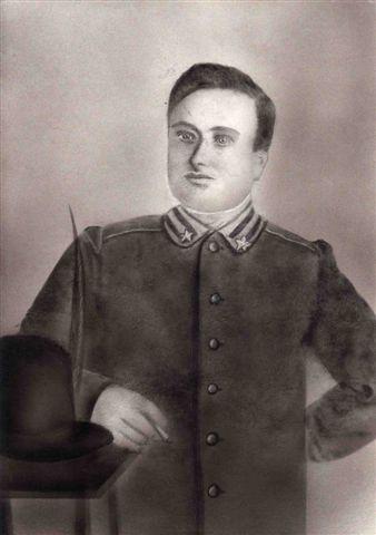 """Giulianova. """"GLI ALPINI RICORDANO IL CAPORALE CARLO DE BERARDINIS CLASSE 1888 DI BELLANTE"""""""