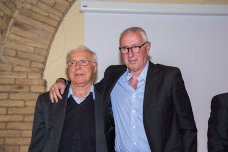 Nicola Tribuiani e Franco Tancredi