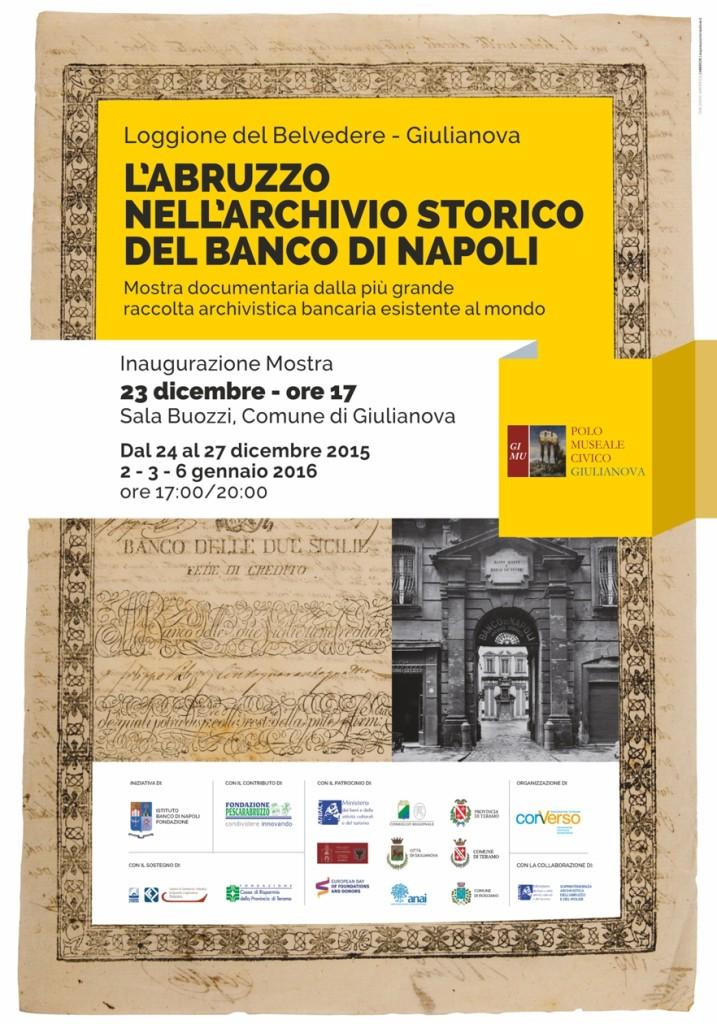 Mostra Banco Napoli a Giulianova