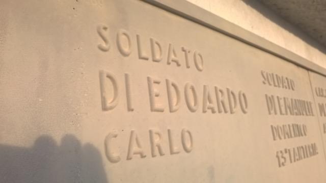 Giulianova. Quando c'era la guerra entra nelle scuole giuliesi. La famiglia Di Odoardo ringrazia l'autore.