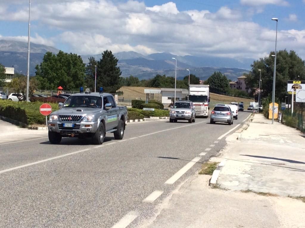Colonna  Mobile Protezione Civile Abruzzo 2