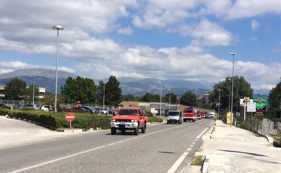Colonna  Mobile Protezione Civile Abruzzo 5