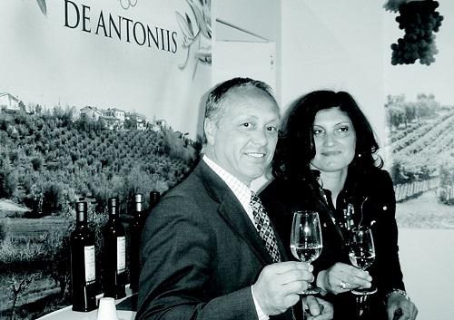 Adele De Antoniis con il marito Giuseppe Mattei