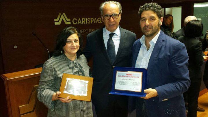 Maria Teresa Orsini, Stefano Pallotta e Walter De Berardinis