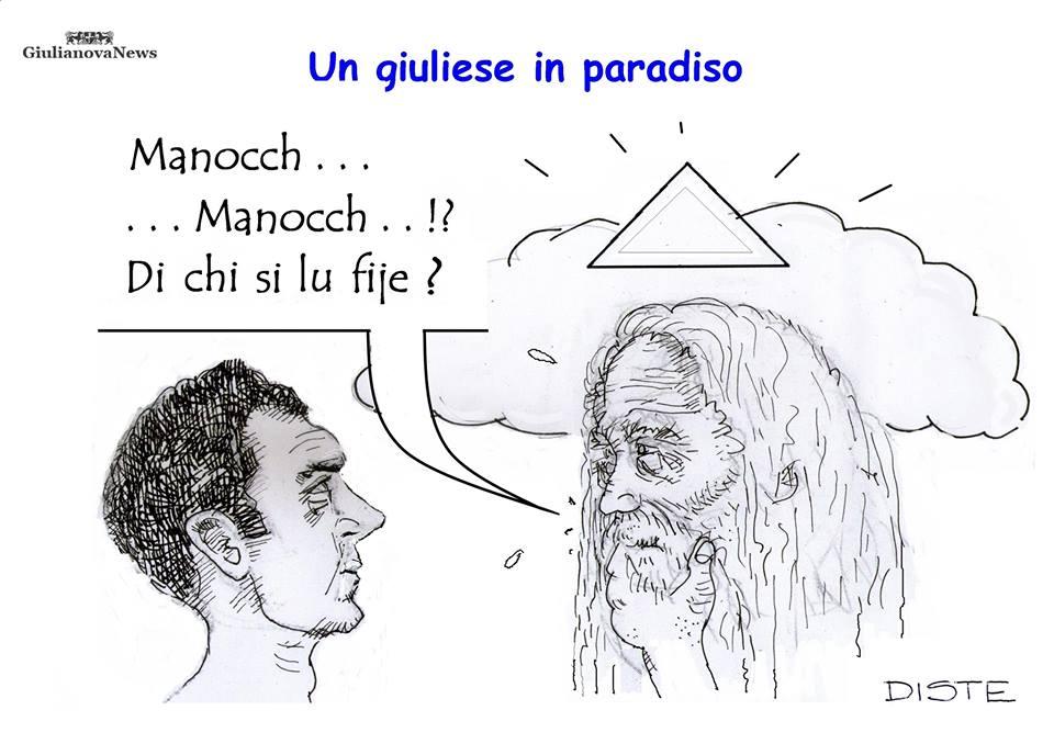 Vignetta per Lino Manocchia dal DISTE