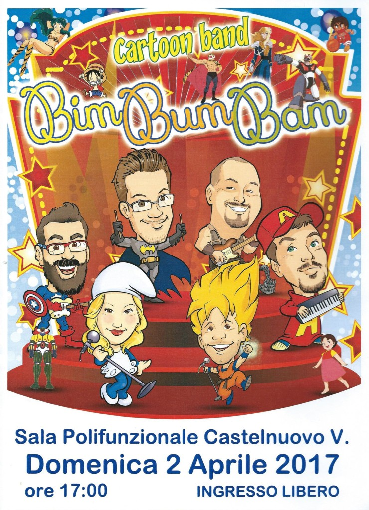 LOCANDINA Cartoon Band 001