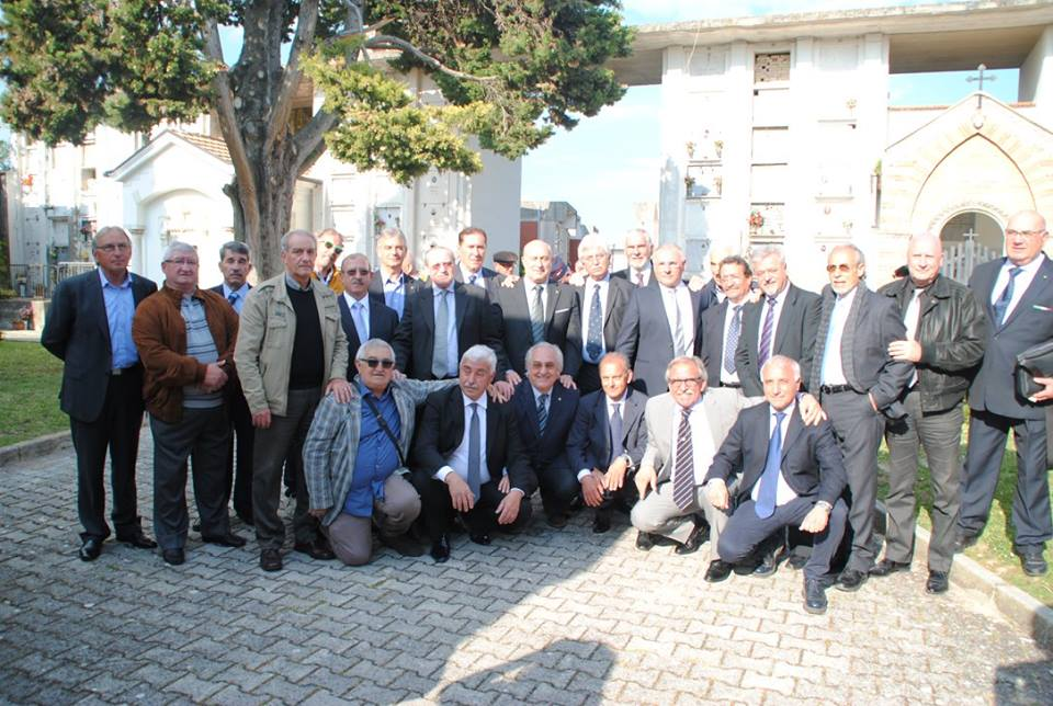 i colleghi del XXVII corso allievi sottufficiali della Polizia di Stato di Nettuno. Foto Archivio 2017