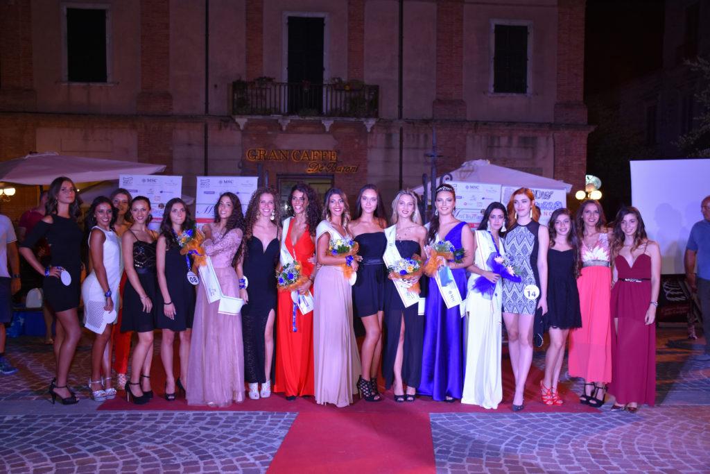 Giulianova. MissBlumare Abruzzo 2017 – Giulianova Notte Alta. Chiara Re vince e ..convince!