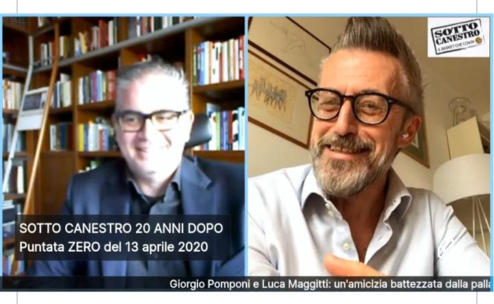 Media. Luca Maggitti e Giorgio Pomponi: il basket visto da due grandi esperti, trasmissione su Facebook